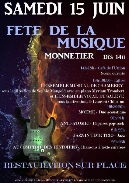 Fête de la Musique 2019 MONNETIER